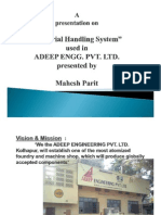 Case Study-material Handling System