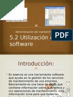 Utilización de Software maintenance pro