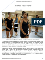 CityDance Receives White House Honor