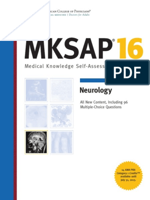 MKSAP 16 - Neurology   Headache   Migraine