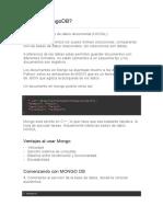 Qué Es MongoDB
