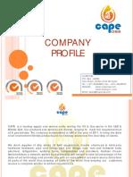 Cape Oss Supplies - Company Profile Sep 2015