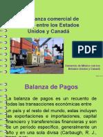 2.5 Balanza Comercial de México EEUU y Canadá