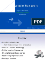 Forum Nokia Mobile Location Framework Presentation ADenever December 2004