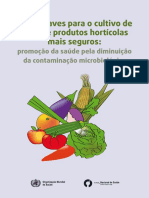 5 Chaves Cultivo Frutos Vegetais OMS Manual