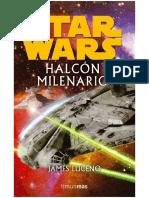 Halcon Milenario, James Luceno OFICIAL
