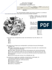 Ficha Formativa 2 - Ciências Naturais 9º ano