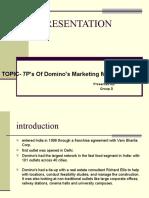 7P's of Domino's Marketing Mix
