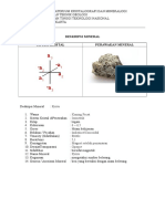 Deskripsi Mineral Pirit