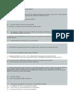 Banco de Dados(120 Questões) AV1 Fundamentos de Economia