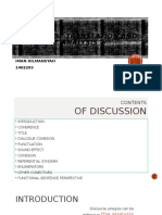 the unit of translation and discourse analysis