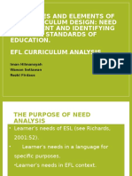 group 1 - the stages and elements of efl curriculum design