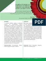 Escolarização Básica e Emancipação Humana No Sertão Alagoano