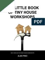 2012 Tiny House Workshops Catalog