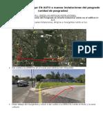 Indicaciones Para Llegar a Nuevas Instalaciones PDI UNAM