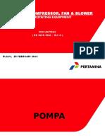 Pompa, Compressor Fan & Blower