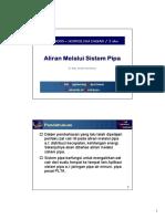 10 Aliran Melalui Sistem Pipa