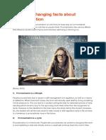 fact sheet procrastination