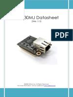 WIZ830MJ Datasheet v 1.1