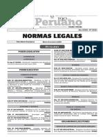 Normas Legales, martes 5 de enero del 2016