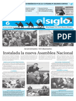 Version Impresa El Siglo 06-01-16