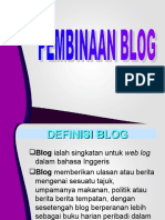 Panduan Membina Blog Pendidikan