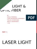 laser and fiber optic