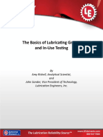 Grease and in-use Testing White Paper