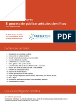 Taller Para Autores Perú 2015