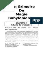 258730923 Mon Grimoire de Magie Babylonienne Chapitre 4