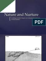 evolution gender and nature and nurture