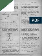 ACADEMIA SIGMA, Examen Parcial-Fisica y Química-Julio-1980