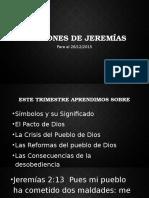 Lecciones de Jeremías