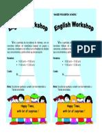 Language Workshops