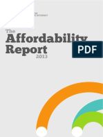 Affordability Report 2013 FINAL