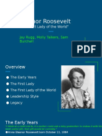 character based leadership university honors eleanor roosevelt