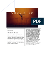Crucified for your Salvation