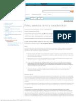 Roles, Servicios de Rol y Características
