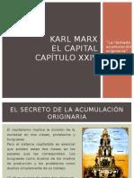 Presentación El Capital de Karl Marx
