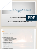 Proteção Civil Módulo 9- Riscos Tecnologicos