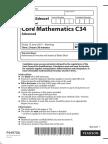 June 2015 (IAL) QP - C34 Edexcel
