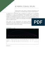 Analisis de Perfil Con El Xflr5