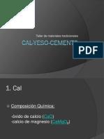 Cal Yeso Cemento