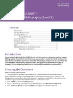 Citation & Bibliography