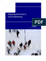 Keeping the Event in Event Marketing