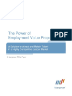 The Power of Employment Value Proposition