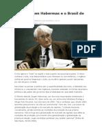 Sobre Jürgen Habermas e o Brasil de 2015