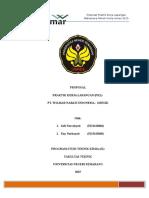 Halaman Pembuka Proposal Wilmar Nabati Sofi Eny