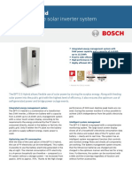 Bosch BPT S Hybrid Storage Solution Spec Sheet