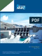 Nhpc Annual Report 13-14
